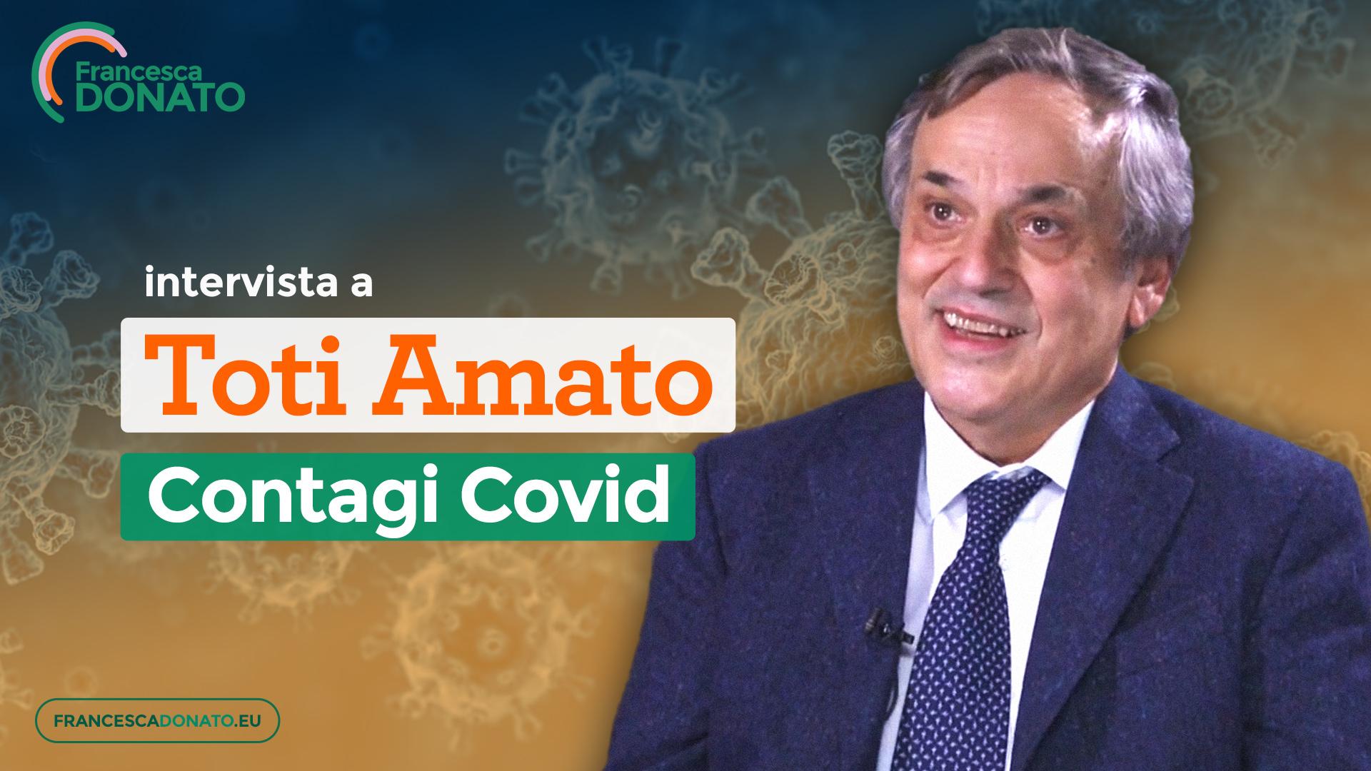 Intervista a Toti Amato - Contagi Covid
