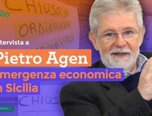 Emergenza Sicilia: intervista a Pietro Agen Presidente Camera di Commercio Sud Est Sicilia