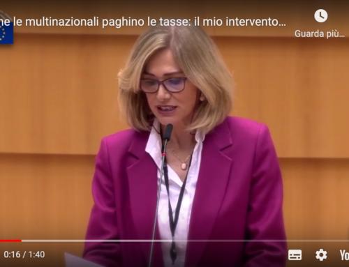 Elusione fiscale delle multinazionali: Plenaria a Bruxelles intervento di Francesca Donato