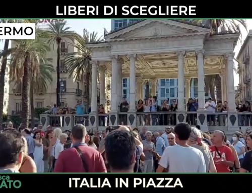 LIBERI DI SCEGLIERE: ITALIA IN PIAZZA